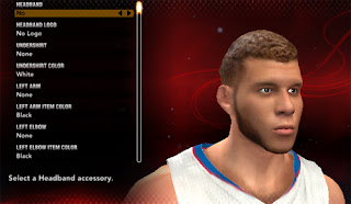 NBA 2K13 Blake Griffin Beard Cyber Face Mod