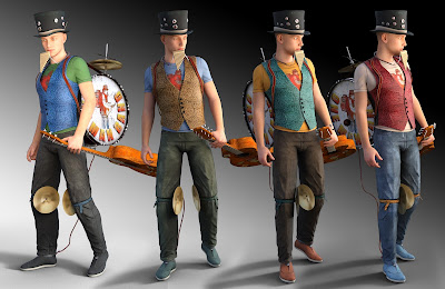 One Man Band for Genesis 3 Male
