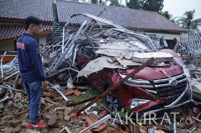 Diduga Masih Banyak Korban Tsunami, 2 Wilayah Ini Belum Bisa Dijangkau