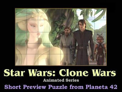 Star Wars: Clone Wars Puzzle