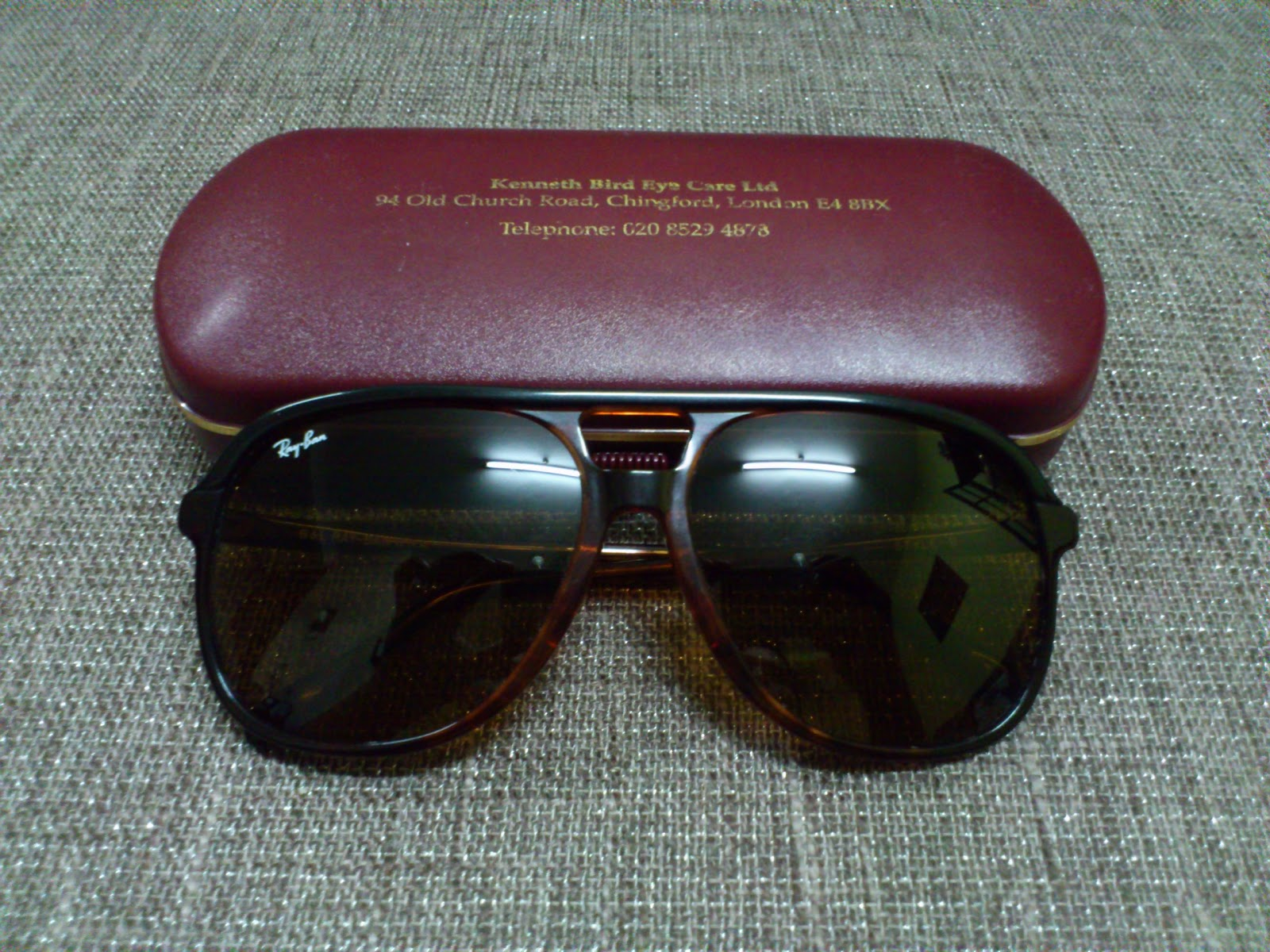 c9b04b9e8a Vintage Bausch   Lomb Rayban Sunglasses  (SOLD)Ray Ban Traditional ...