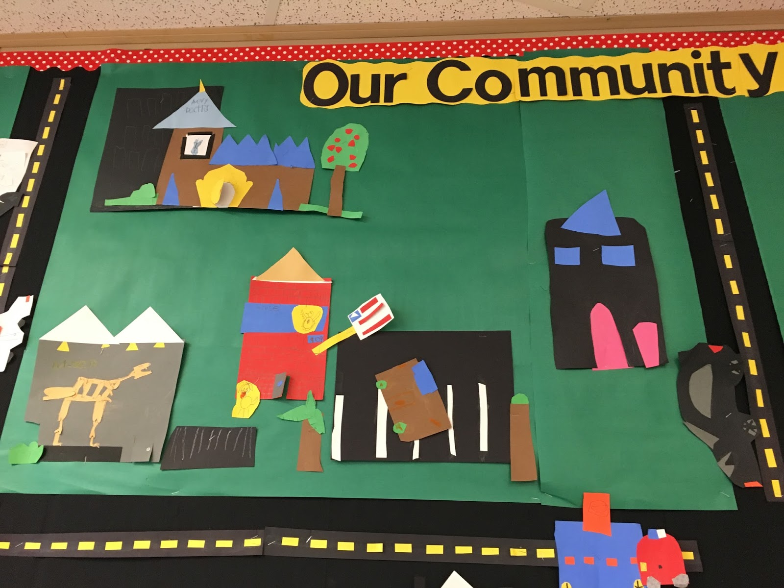 kinders on a roll community map u0026 community helpers