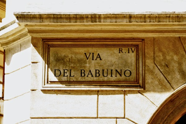 Compras em Roma - Via del Babuino