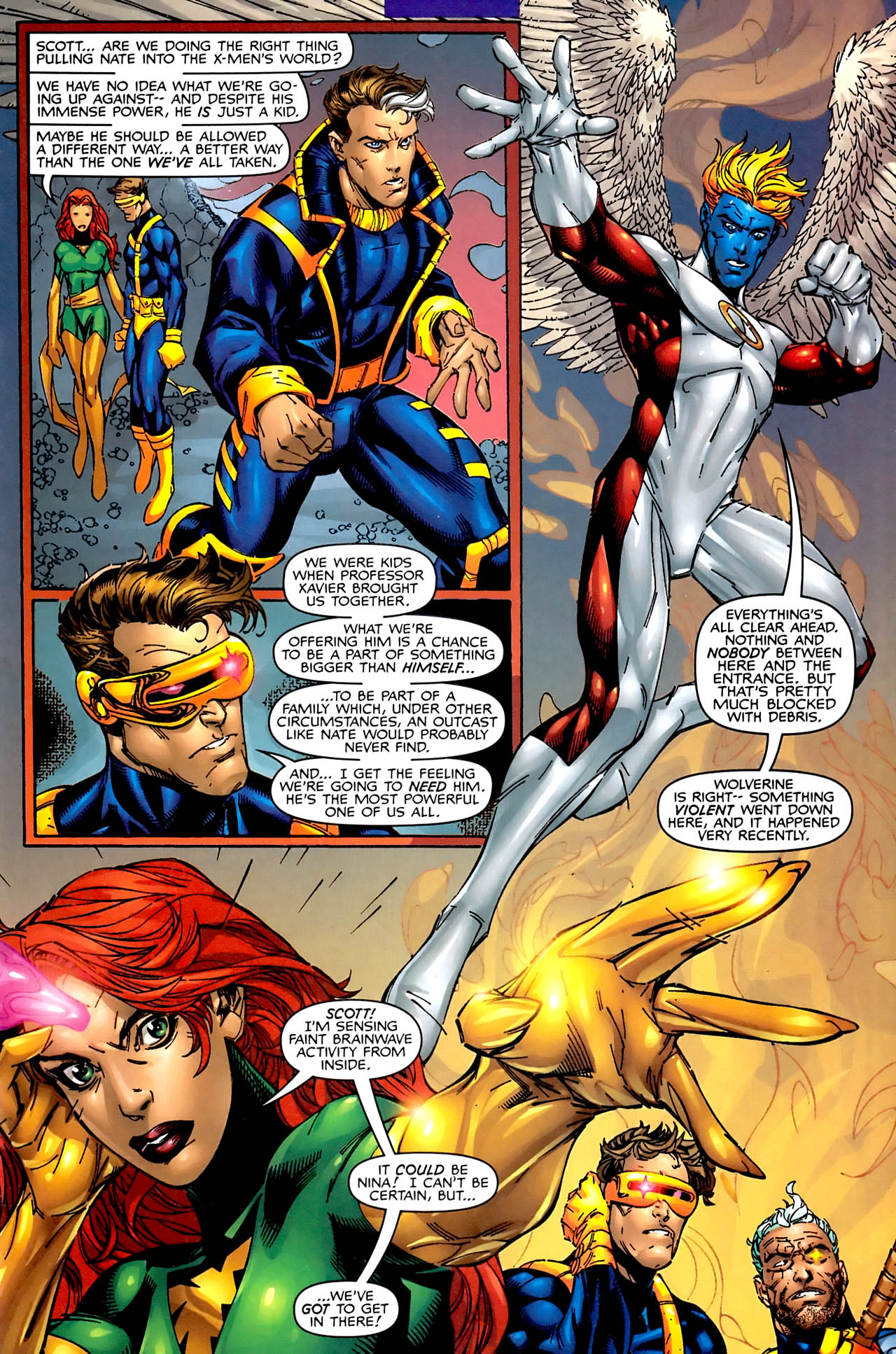 Read online Astonishing X-Men (1999) comic -  Issue #1 - 11