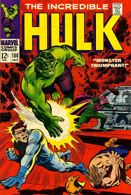 Incredible Hulk #108, the Mandarin