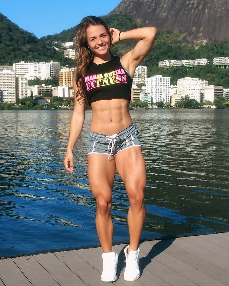 Fitness model from Brazil Vanessa Garcia