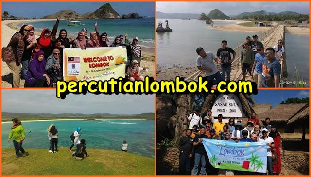 Pakej Lombok, Pakej Percutian Lombok