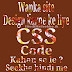 Wapka site design karne ke liye CSS code kahan se le ?