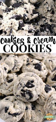 COOKIES & CREAM COOKIES OREO TRUFFLES #Cookies #Cream #Cookiesrecipe #Oreo #Truffles #Dessert #Americandessert #Englanddessert
