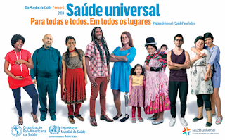 Dia Mundial da Saúde 2018: Saúde para todos