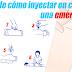 ¡Aprende cómo inyectar en caso de una emergencia! (Video)