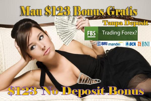 $123 No Deposit Bonus FBS
