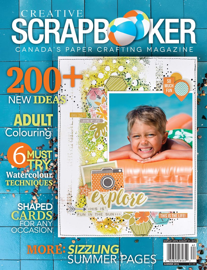 Creative Scrapbooker - Summer 2016 Issue