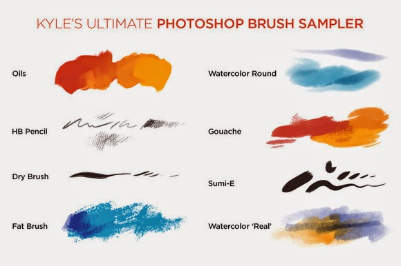 Kyle\u0027s Photoshop Brush Mini Pack Free Download Freebies PSD