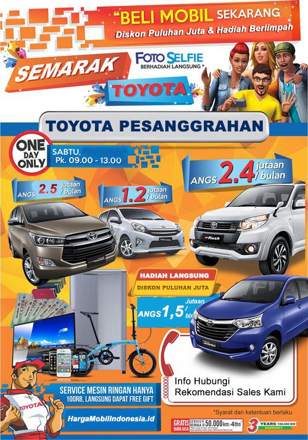 Tunas Toyota Pesanggrahan Veteran Bintaro, Jakarta Selatan