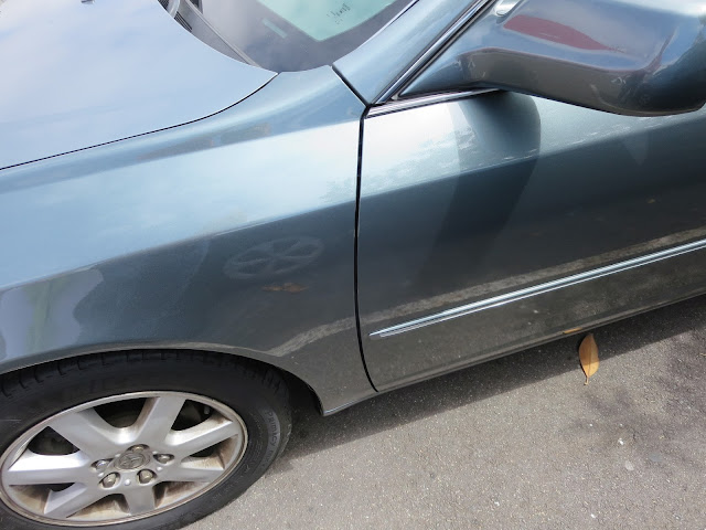 2001 Toyota Avalon after collision repairs at Almost Everything Auto Body