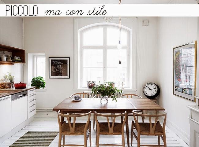 Arredare piccoli spazi Piccolo ma con stile  Home