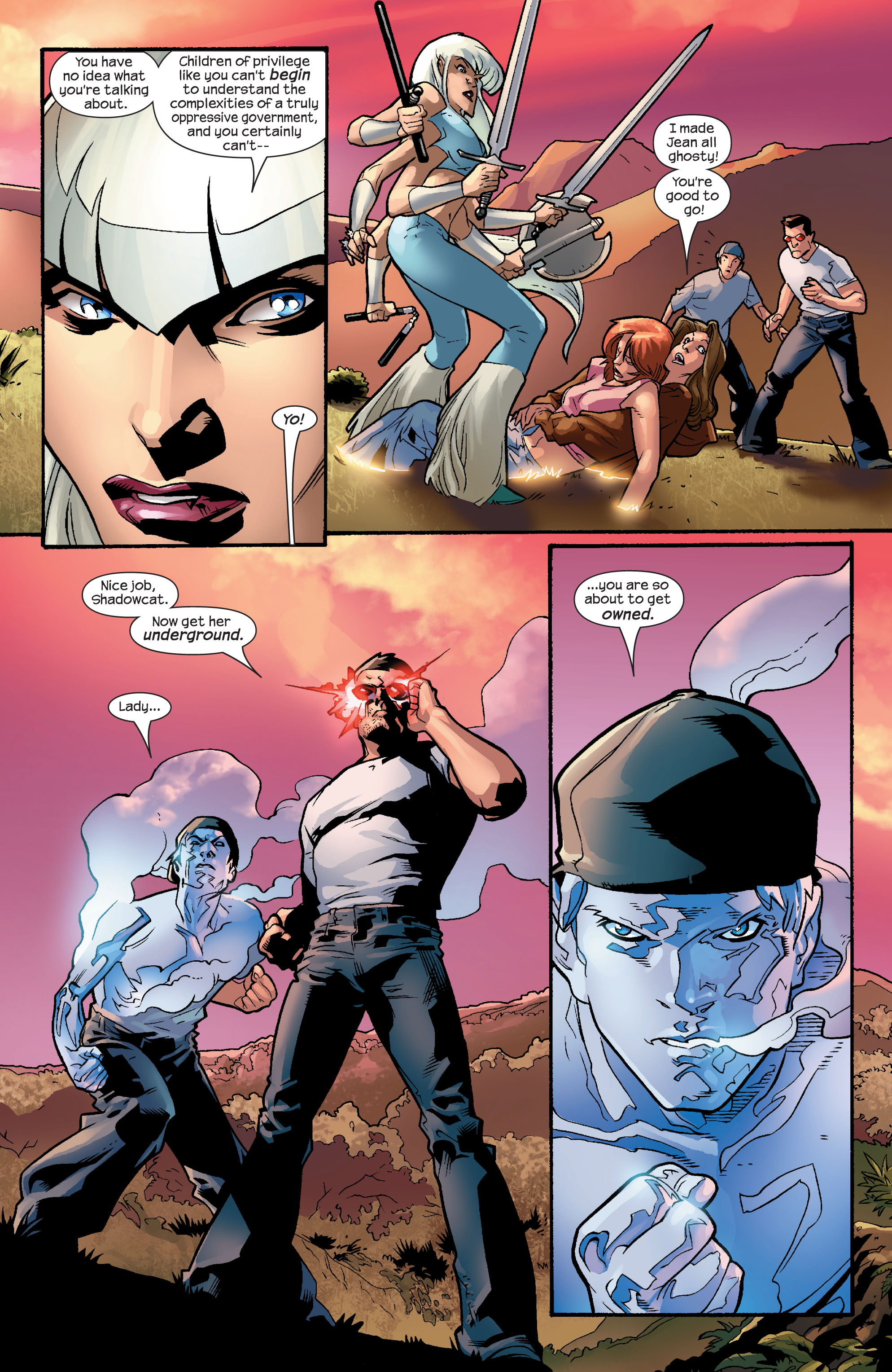 Read online Ultimate X-Men comic -  Issue #56 - 5