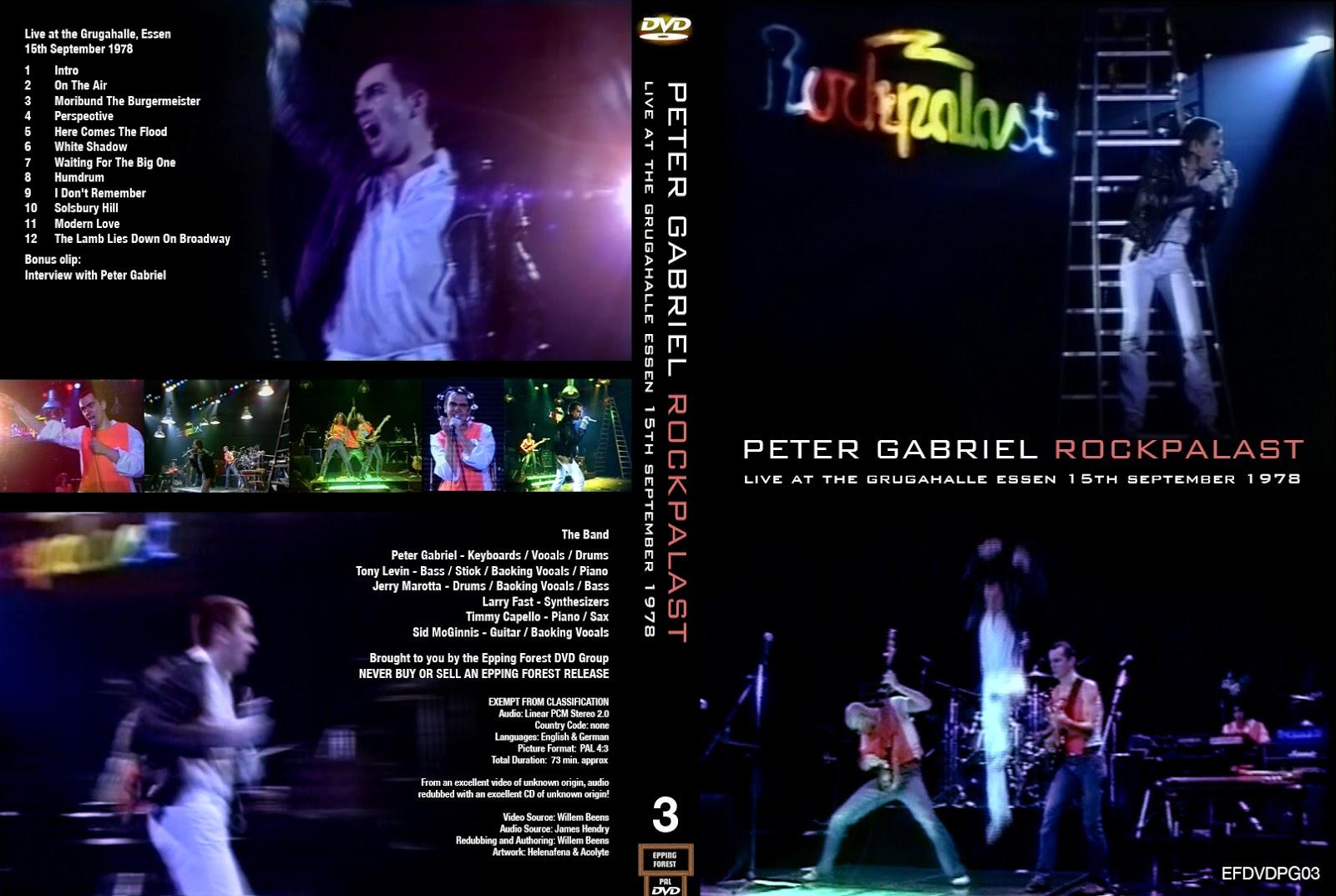 T U B E Peter Gabriel 1978 09 16 Essen De Dvdfull