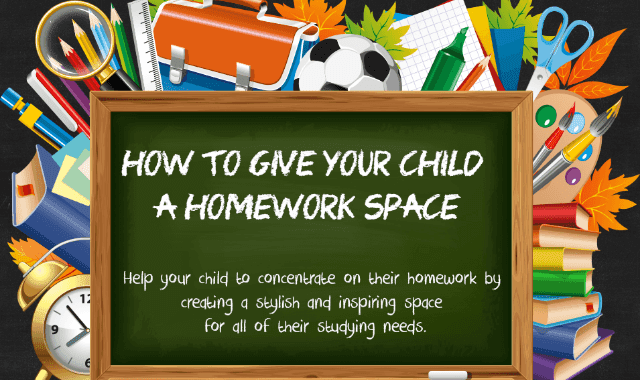 How To Give Your Child A Homework Space