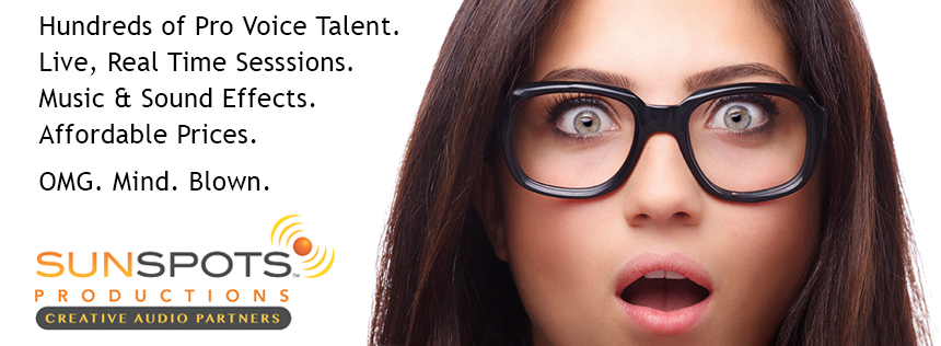 Voice Talent and Agency News from SunSpots
