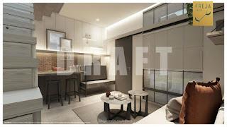 Interior Rumah Freja BSD - Dapur