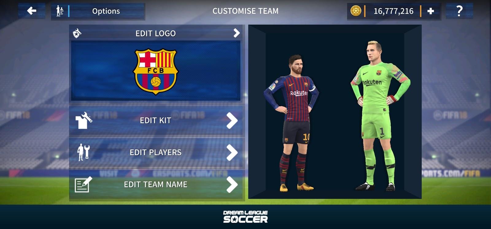 Top Five Dream League Soccer 17 Hack Profile dat File Download - Circus
