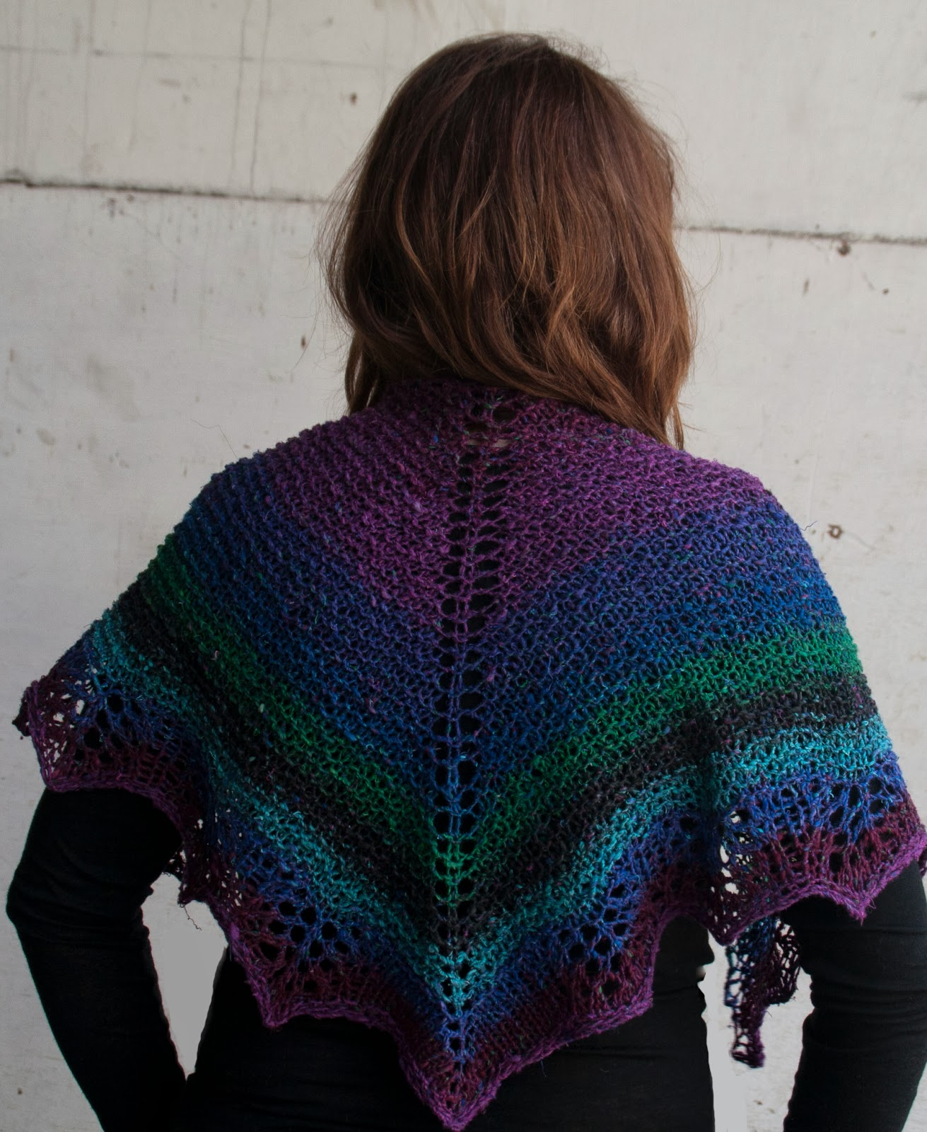 Cascade Yarns Blog: Waves Shawlette - 1 skein Shawlette ...