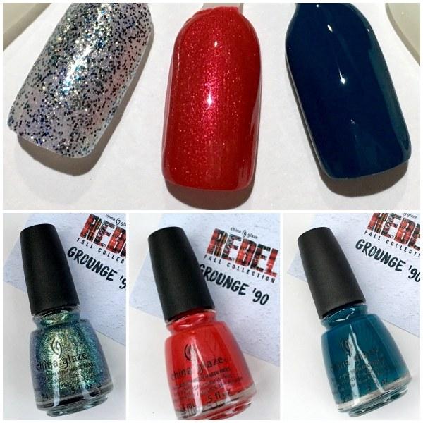 Raqueleita Blog: Rebel, La Nueva Colección de Otoño de China Glaze