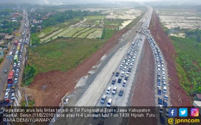 Arus Mudik Lancar karena Jalan Tol Trans Jawa?