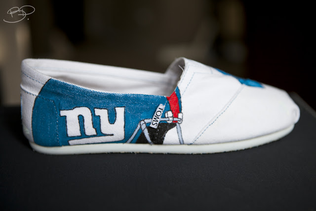 New York Giants Toms Shoes