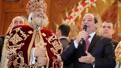 السيسي والبابا تواضروس