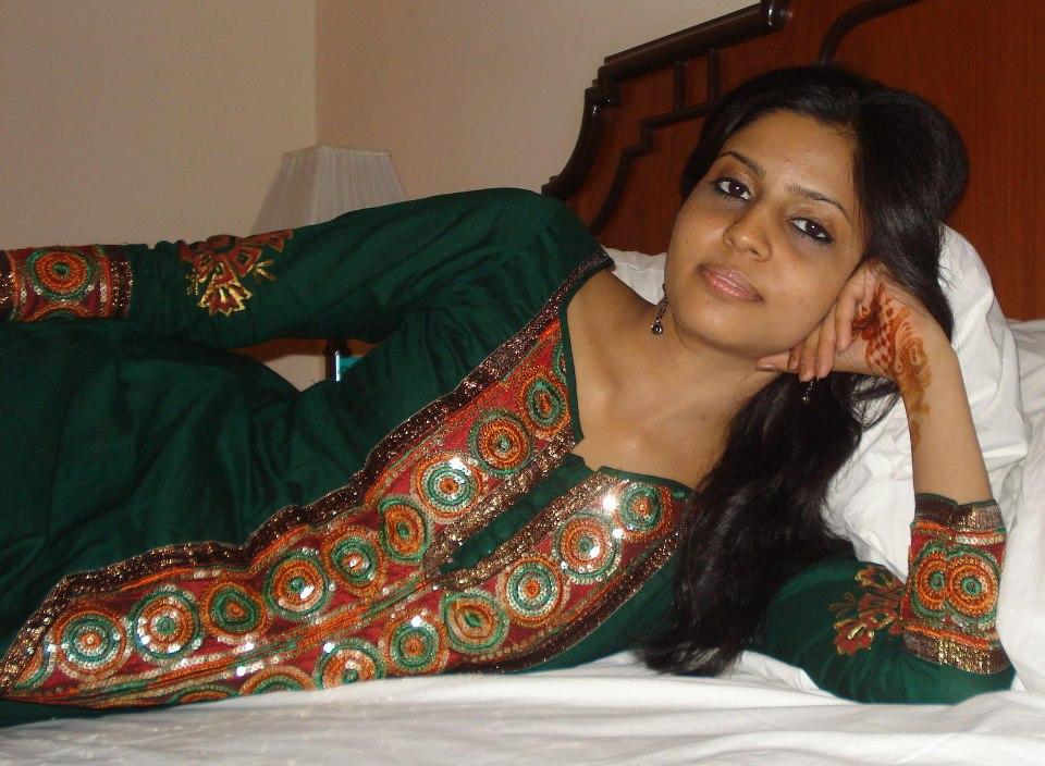 Beautiful pakistani girl taking selfie
