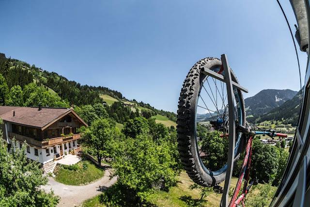 Enduro Bikerunde Kirchberg Kitzbühel mit der Gondel
