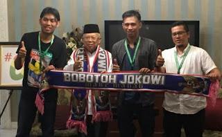 Dukungan Viking Persib kepada Jokowi-Ma'ruf di Pilpres 2019 Bikin Gaduh