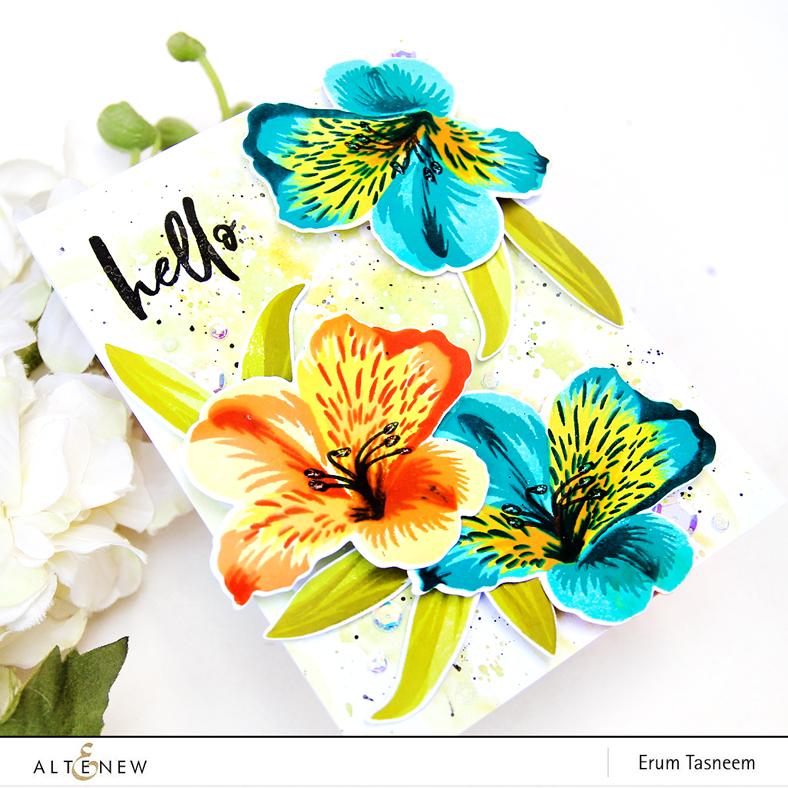 Altenew Peruvian Lily | Erum Tasneem | @pr0digy0