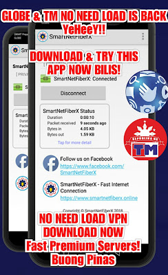 Globe & TM No need Load VPN Is Back Download and try now superfast