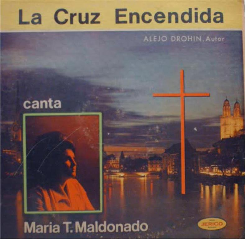María Teresa Maldonado-La Cruz Encendida-