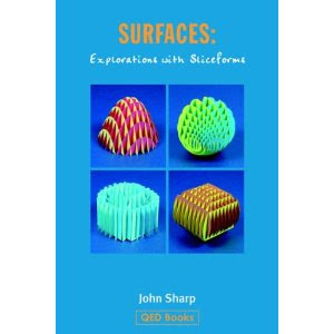cover photo of surfaces: explorations with sliceforms