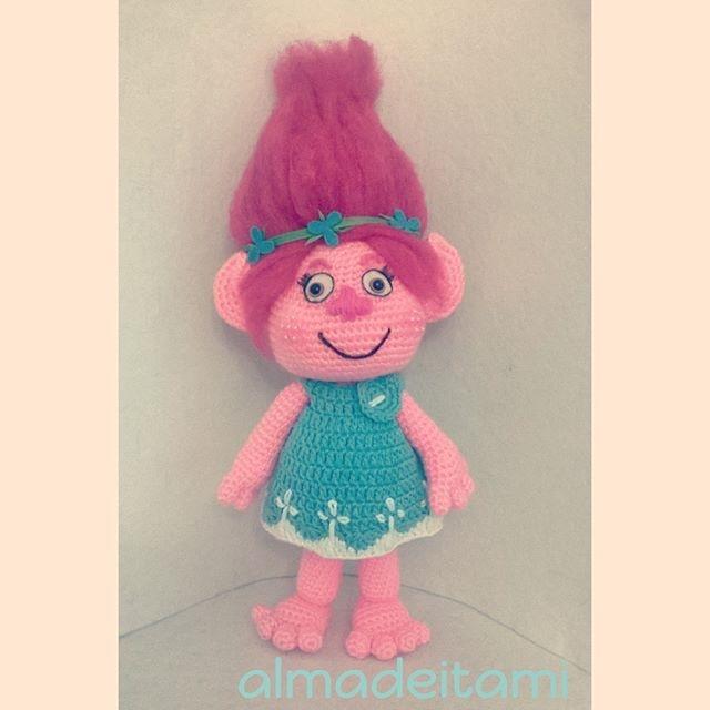 Trolls Knitting Or Crocheting Patterns : Patron princesa poppy quot trolls