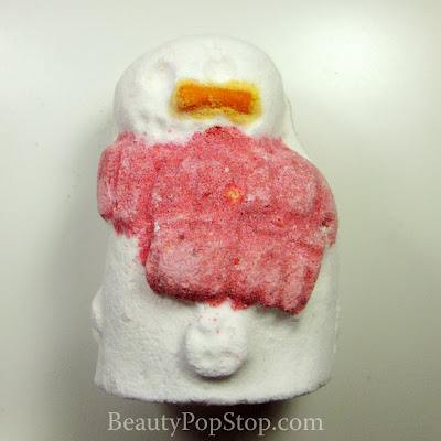 LUSH SNowman Bath Bomb Review