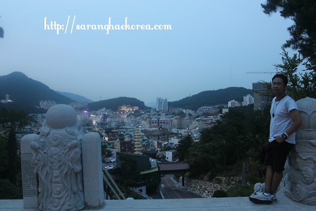 City view of Busan from the Temple