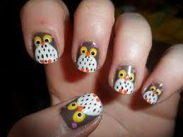 nail art; nail art criativo; nail art de coruja