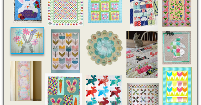 Quilt Inspiration Free Pattern Day Easter And Spring