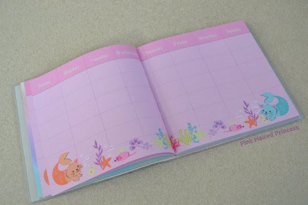 paperchase purr maids ideas journal weekly planner