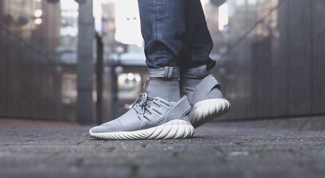 new arrival 6a336 eae98 Adidas Tubular Doom Grey On Feet