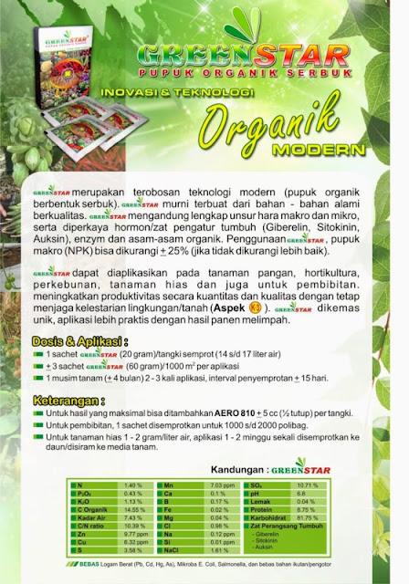 Pupuk Serbuk Multifungsi Greenstar