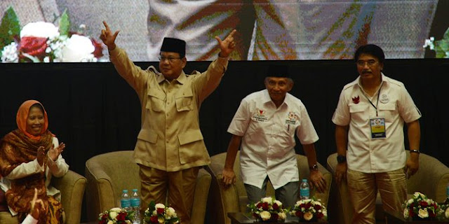Selisih 4 Persen Versi Survei Puskaptis, BPN Klaim Rakyat makin Percaya Prabowo-Sandi