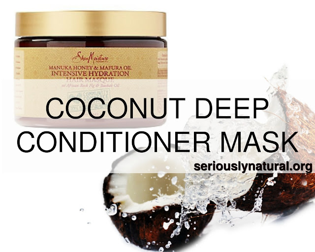 Click here to buy my favorite deep conditioner, SheaMoisture Marfura Oil Hydration Intensive Masque