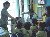 kunjungan anak-anak ke klinik gigi kami